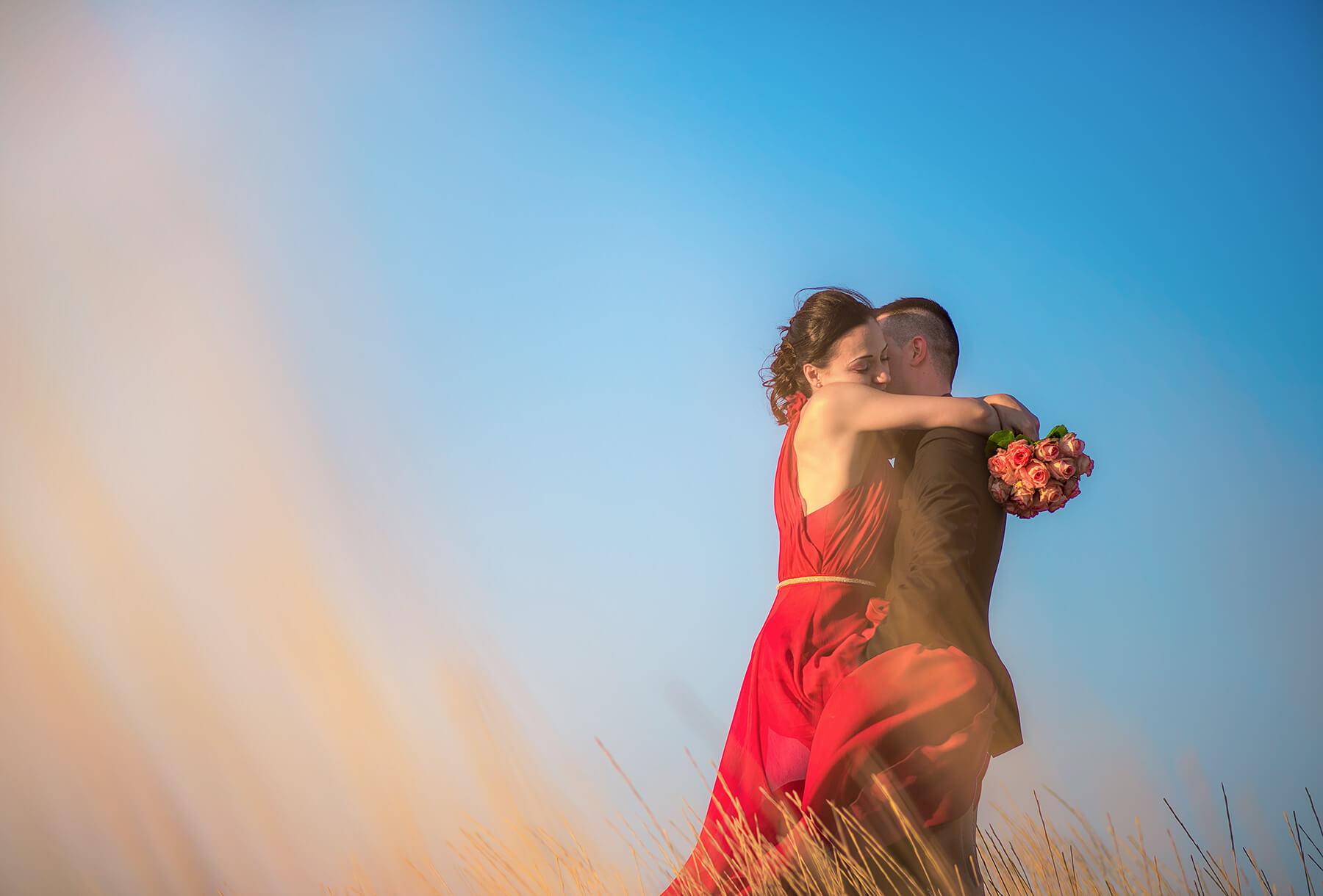 Coppia di sposi. Beniamino Lai, Fotografo professionista di Matrimonio in Sardegna.