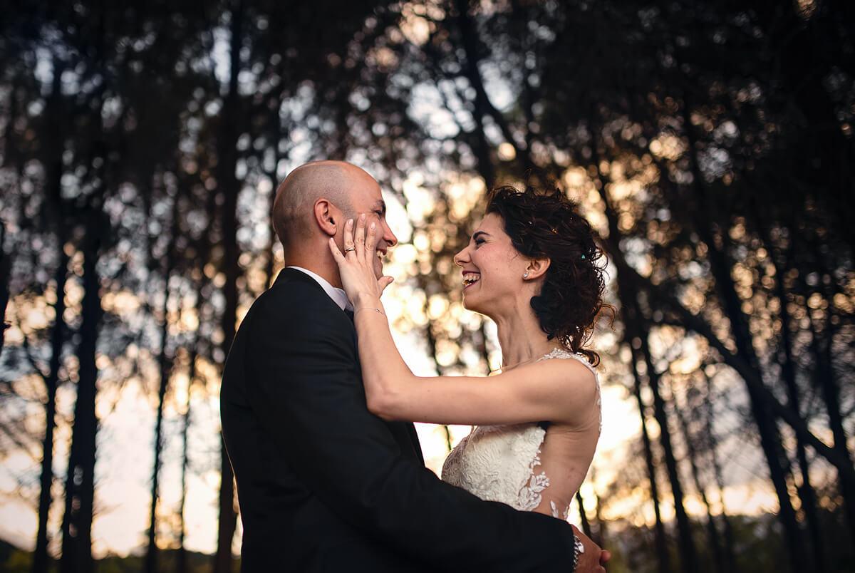 Inquadratura di coppia. Beniamino Lai, Fotografo professionista di Matrimonio in Sardegna.